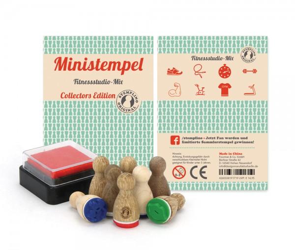 Ministempel Fitnessstudio - Mix
