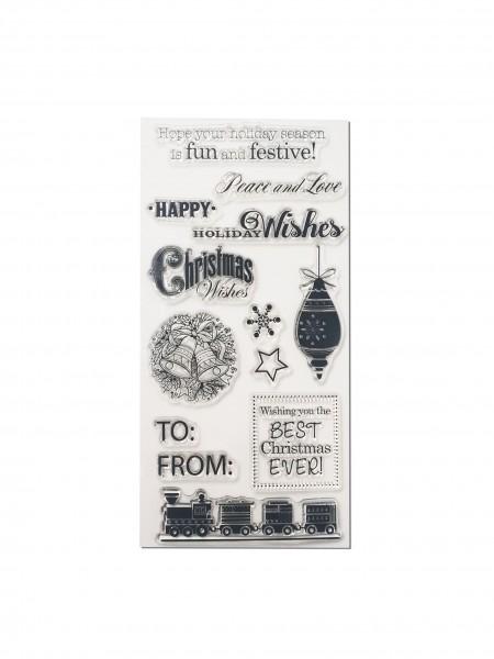 Clear Stamp Set - Weihnachten II