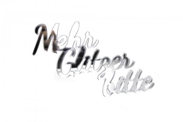Acryltypo® - More Glitter Please