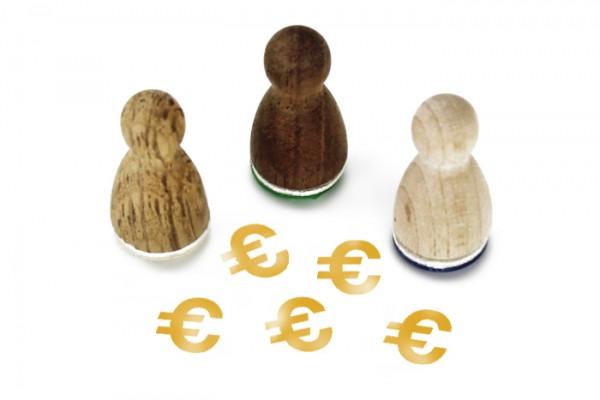 Ministempel Eurozeichen