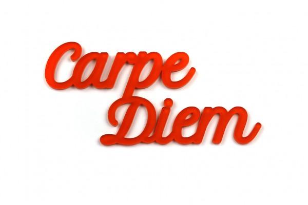 Acryltypo® - Carpe Diem