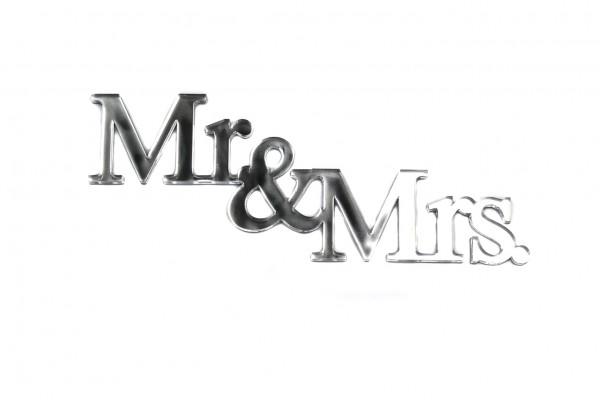 Acryltypo® - Mr. & Mrs.