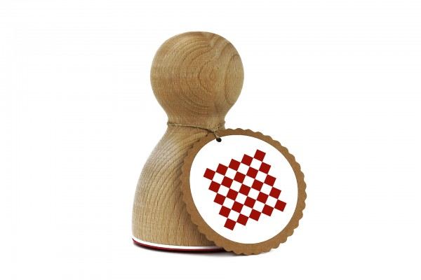 Maxistempel 3XL - Punktemuster Quadrat