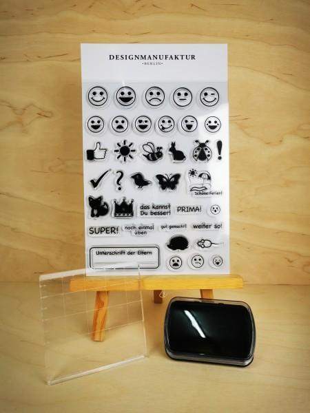 Clear Stamp Set - Lehrer