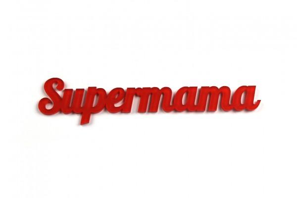 Acryltypo® - Supermama