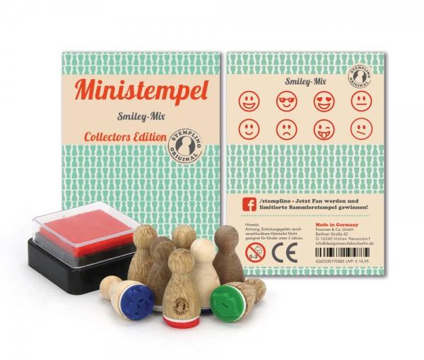 Ministempel Smiley - Mix