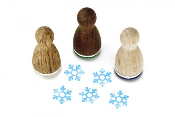 Ministempel Schneeflocke