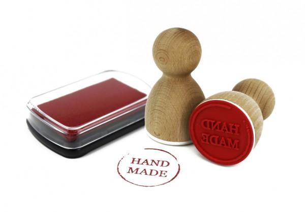 Maxistempelkissen - Rot