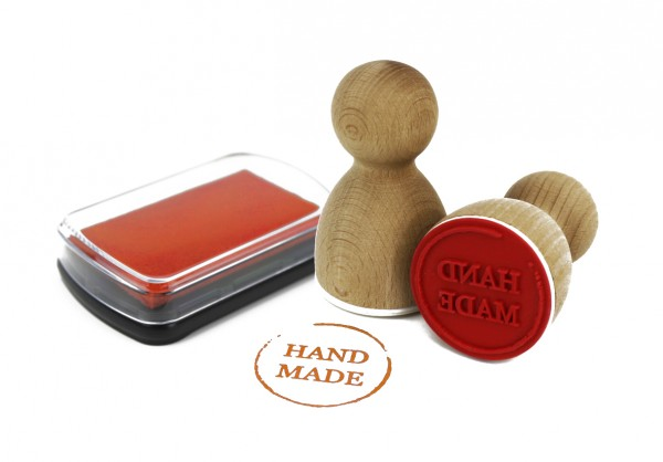 Maxistempelkissen - Orange