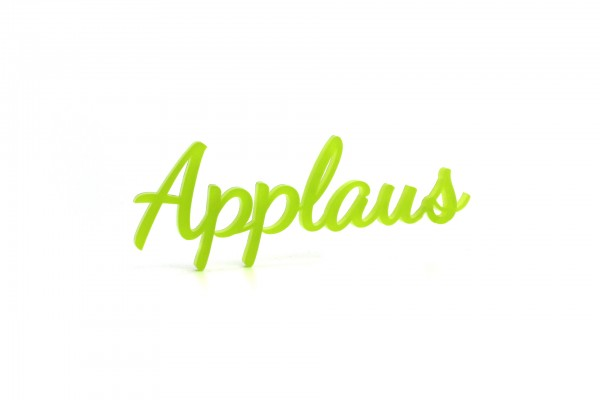 Acryltypo® - Applaus