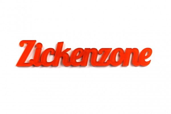 Acryltypo® - Zickenzone