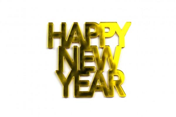 Acryltypo® - Happy New Year
