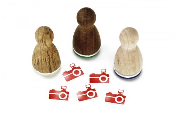 Ministempel Fotoapparat