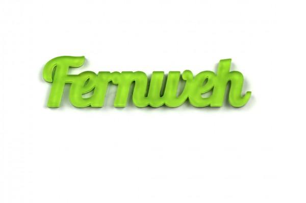 Acryltypo® - Fernweh