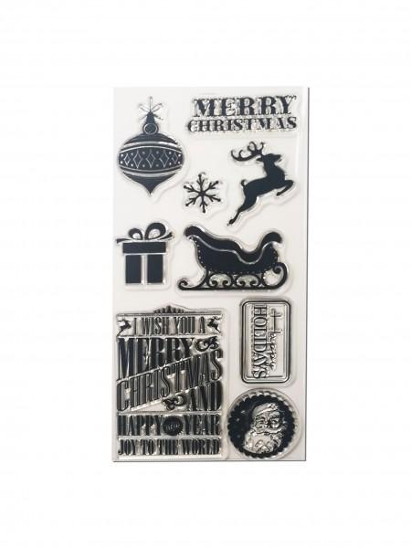 Clear Stamp Set - Weihnachten III