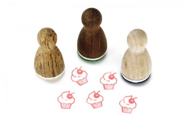 Ministempel Cupcake