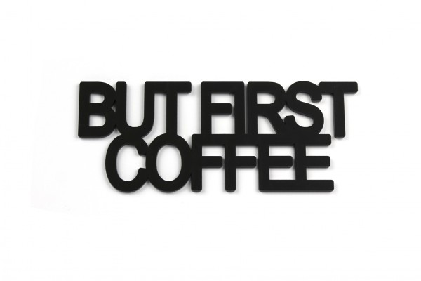 Acryltypo® - But first coffee