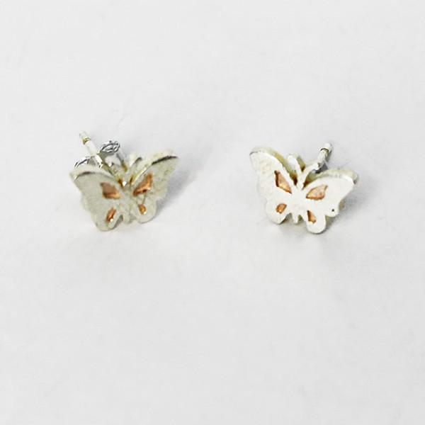 Ohrstecker Schmetterling aus 925 Sterling Silber