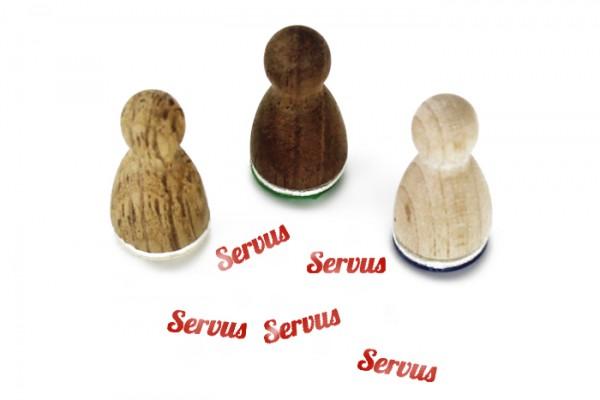 Ministempel Servus