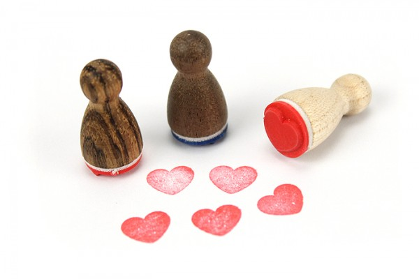 Ministempel Herz