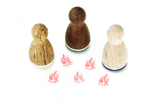 Ministempel Lagerfeuer