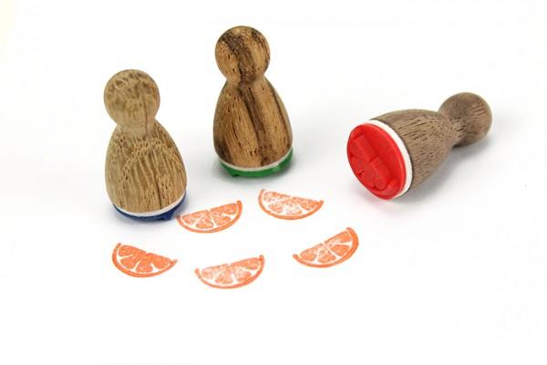 Ministempel Orange