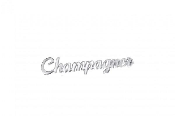 Acryltypo® - Champagner