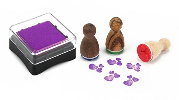 Stempelkissen, violett