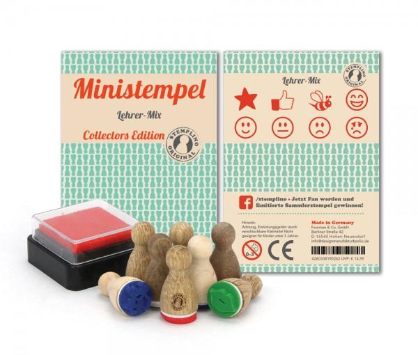 Ministempel Lehrer - Mix