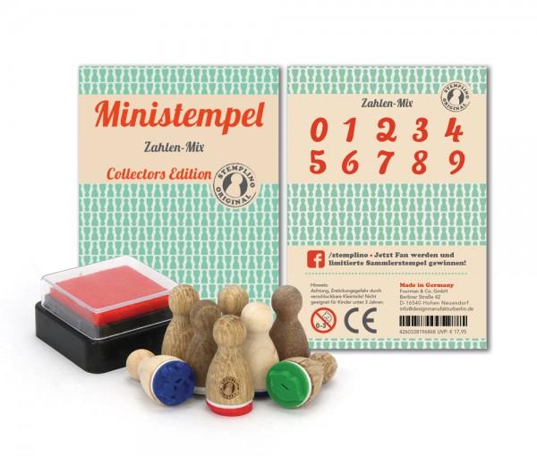 Ministempel Zahlen - Mix