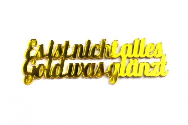 Acryltypo® - Gold, was glänzt