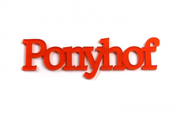 Acryltypo® - Ponyhof