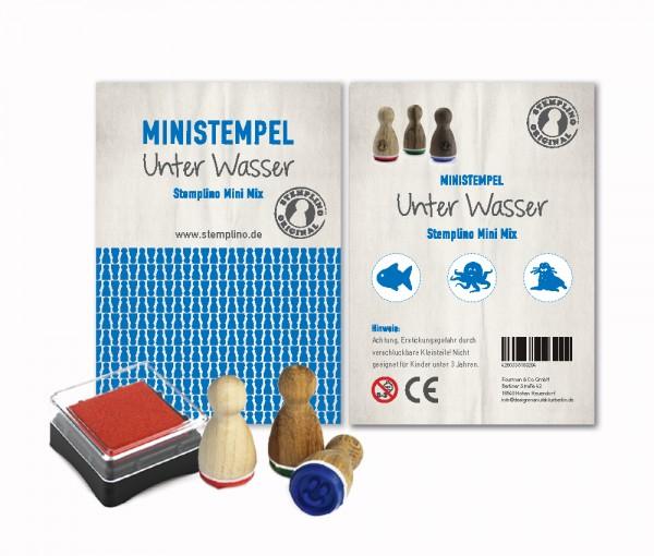 Mini Stempel Stempelset 3er Pack Unter Wasser