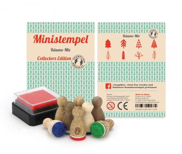 Ministempel Bäume - Mix