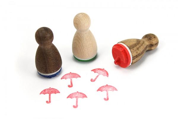 Ministempel Regenschirm