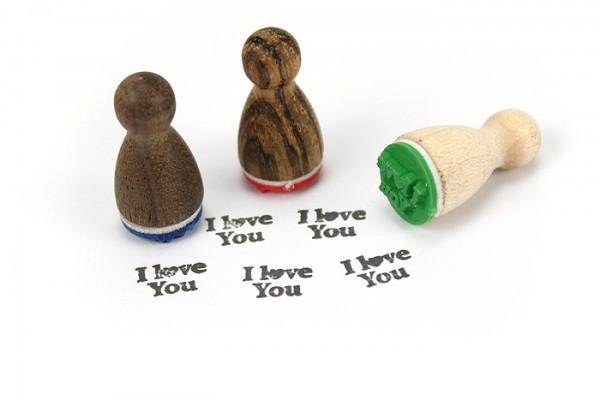 Ministempel I love you