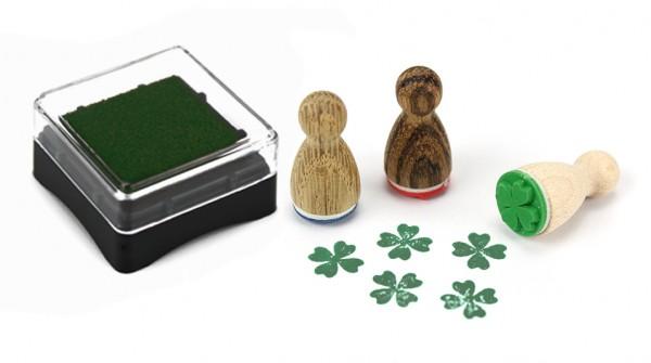 Ministempelkissen - Grün