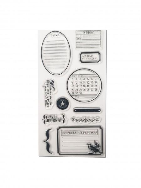 Clear Stamp Set - Reise II