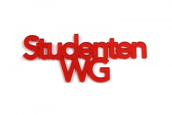 Acryltypo® - Studenten WG